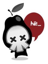 Information retrieval icon mascot